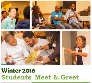 Winter 2016 Meet & Greet